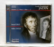 CHATOUX & GIROUD - JADIN Sonatas for flute & piano Vol.2 MAGUELONE CD NM