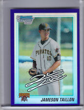 2010 BOWMAN CHROME #BDPP79 JAMESON TAILLON ROOKIE RC PURPLE REFRACTOR PIRATES