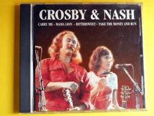 CROSBY & NASH- CARRY ME... CD.