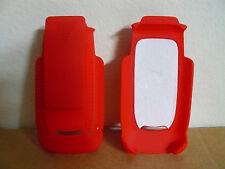 i897 Ferrari Belt Clip Holster Motorola Ribbed Rubberized Coating Red