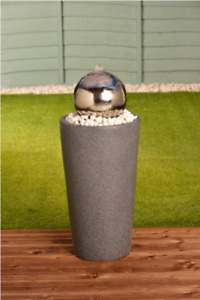 STAINLESS STEEL GLAZING BALL WATER FEATURE