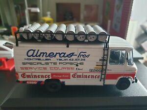 Mercedes 508D Assistance Rallye Almeras Porsche 1980-82 Ixo Altaya 1/43