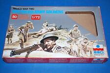 """Soldatini 1//72 /""""WWII BRITISH 8TH ARMY/"""" 1709 AIRFIX"""