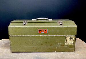 Vintage PARK Toolbox Tool Box model 2180