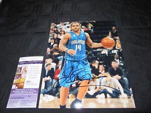 JAMEER NELSON ORLANDO MAGIC NBA SIGNED 8X10 PHOTO W/JSA COA T42610