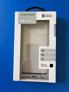 LifeProof NEXT Series Case—Samsung Galaxy S10—Clear/Transparent & Black