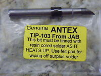 Antex Spare Soldering Tips for C CSTC M TC25 XS25 Irons 1mm to 4.7mm