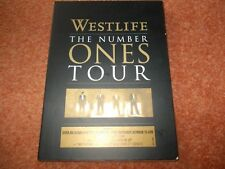WESTLIFE  THE NUMBER ONES TOUR