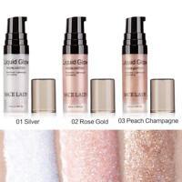 Liquid Highlighter Makeup Shimmer Face Illuminator Oil Glow Pressed Powder