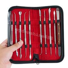 Dental Lab Edelstahl-Kit Paraffine Carving Werkzeug Set Instrument Stil Denshine