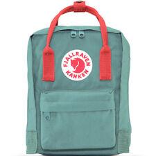 "NEW FJALLRAVEN ""KANKEN"" Mini Backpack in Frost Green/Peach Pink- SALE"