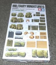Tamiya 1/35 Modern US Military Accessories Set  - Factory Sealed Box.