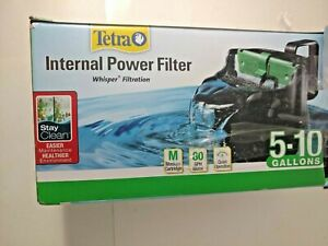 Tetra Whisper Internal Filter 3 To 10 Gallons, For aquariums, In-Tank Filtration