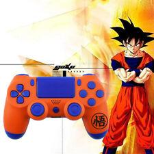 Dragon Ball Goku PS4 Slim Controller Shell Case Full Custom Replacement Mod Kit