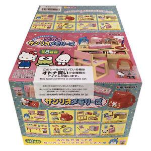 Rare 2018 Re-Ment In Love with Sanrio Memories Full Set of 8 pcs