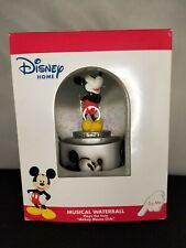 """Brand New Disney Home Musical Waterball Plays """"Mickey Mouse Club"""" A1"""