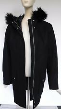 NEW ABERCROMBIE & FITCH Heritage Wool Coat Parka Jacket women's size L  NEW