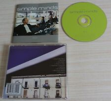 CD ALBUM NEAPOLIS SIMPLE MINDS 9 TITRES 1998