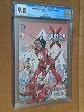 Fight for the Multiverse #1 1:25 Dodson Harley Quinn Variant CGC 9.8 NM+/M