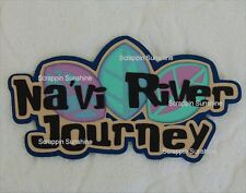 DISNEY NA'VI RIVER JOURNEY Navi Die Cut Title Scrapbook Page Paper Piece SSFFDeb