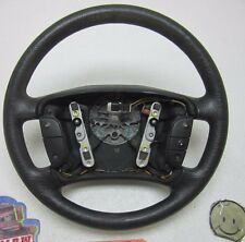 STEERING WHEEL 99 00 01 02 MERCURY COUGAR BLACK SPEED CRUISE CONTROL CAR OEM