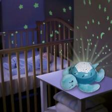 Soothing Turtle Baby Nursery Cot Mobile Musical Starlight Projector Lullaby Toy