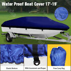 Multicolor Waterproof Boat Cover Trailer Fishing Motorboat Storage UV Protection