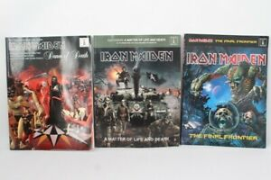 3x IRON MAIDEN Guitar TAB Editions Sheet Music Books Wise Publications - C25