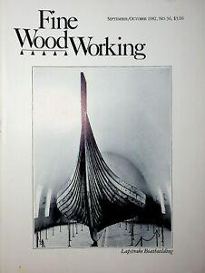 Fine Woodworking Magazine September/October 1982 Lapstrake Boatbuilding