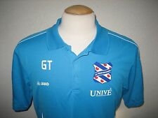 SC Heerenveen WORN BY COACH Holland football shirt soccer jersey voetbal size L