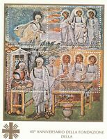 284796 / Vatikan Block ** MNH  Caritas
