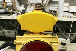 1 RARE LRG HINGED TOP MOUNT WEATHER PROOF TRAFFIC SIGNAL HOOK $39 ($11 SHIPPING)
