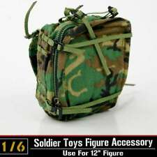 1/6th Soldier Figure Model Accessories Tools Camouflage Backpack Collection Toys