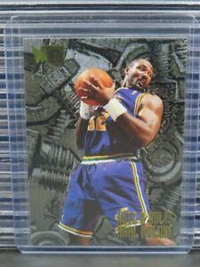 1995-96 Fleer Metal Karl Malone Nuts & Bolts #214 Jazz R432