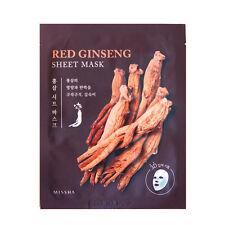 Missha Red Ginseng 3D Sheet Sample Masks 15pc Set Value Set