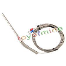 3m inoxydable Sonde acier K Capteurs de type haute température thermocouple 10ft