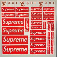 SUPREME VINYL AIRBRUSHING STENCIL 31 PIECES PLUS 3 SETS OF DESIGNS
