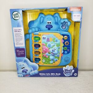 LeapFrog Blues Clues and You! Skidoo Into ABCs Book for Kids, Blue Nickelodeon