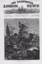 1877 Antique Print - TURKEY ARMENIA KARS RETREAT TURKISH TROOPS CAMELS  (112)