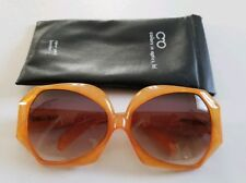 Vintage Christian Dior 2025-30 Jaspe Amber Oversized Sunglasses By Optyl Germany