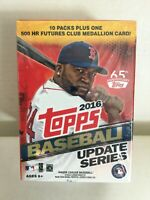 2016 TOPPS UPDATE Baseball BLASTER BOX - Trevor Story, Tim Anderson RC Possible
