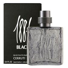 CERRUTI 1881 BLACK POUR HOMME EDT 100ML Neuf et sous blister