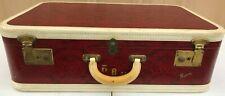 Vintage Skyway Luggage - Snakeskin Design - RARE!