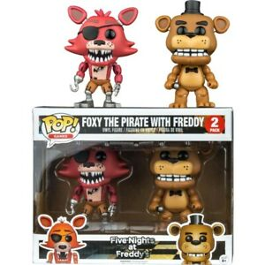 FIVE NIGHTS AT FREDDY'S - Freddy & Foxy Pop! Vinyl Figure 2-Pack (Funko) #NEW