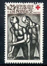 STAMP / TIMBRE FRANCE OBLITERE  N° 1324  CROIX ROUGE
