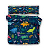Color Dinosaur Doona/Duvet/Quilt Cover Set Single/Double/Queen/King Size Bed