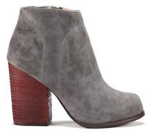 Jeffrey Campbell Hanger Ankle Boot W Hidden Platform Dark Grey Sz 10m