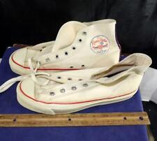 Vintage Randy Pedic High Top Canvas Basketball Sneakers Steel Shank Size 4 1/2
