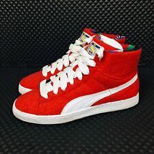 buy popular 734da 9af32 Puma X Dee   Ricky High Top (Men Size 10) Designer Sneakers Red Felt