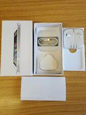 Apple casella bianca per iPhone 5 e completo di accessori solo (no telefono) UK